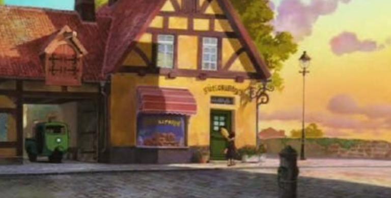 魔女の宅急便パン屋