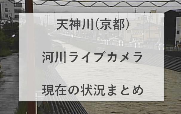 天神川(京都)河川ライブカメラ・現在の状況まとめ
